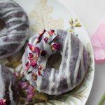 Double Chocolate Donuts with Strawberry Chocolate Glaze