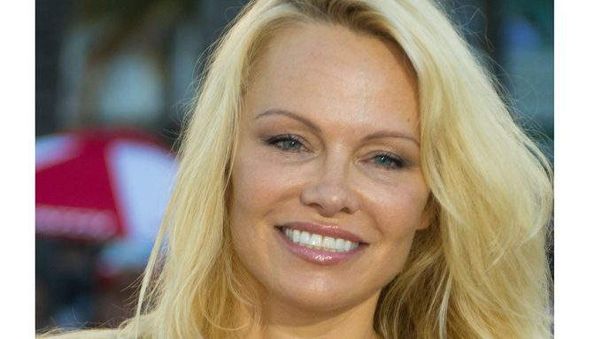 Pamela Anderson vegan diet, a headshot of Pamela Anderson on the red carpet
