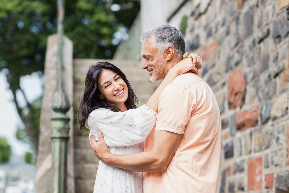 STIs are on the rise _ middle-aged couple
