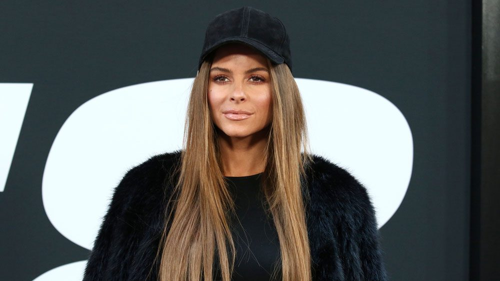 Maria Menounos brain tumour, Maria Menounos dressed casually at an event