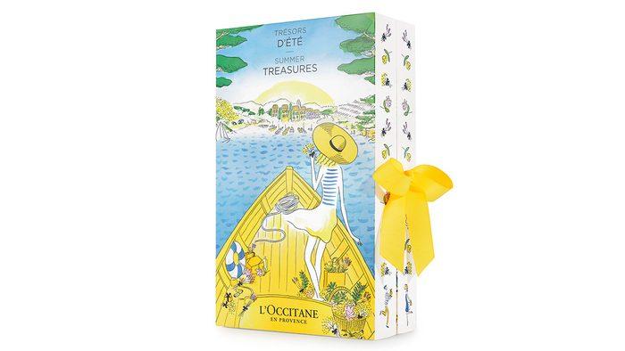 summer shopping, l'occitane summer calendar