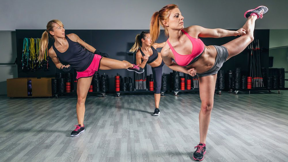 Best kickboxing moves for women Foot Stomping