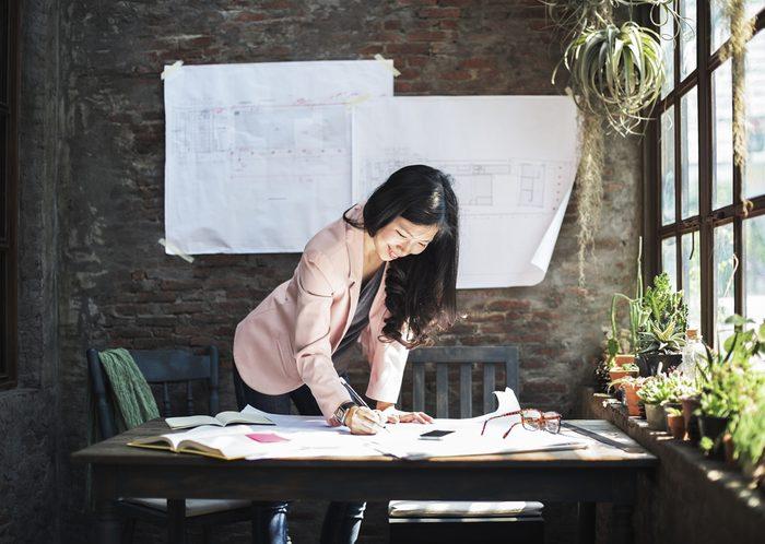 next overnight success_hardworking woman in blazer