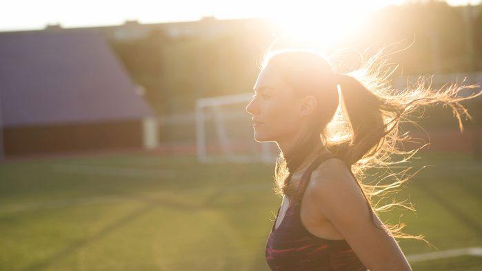 family life balance running, running schedule