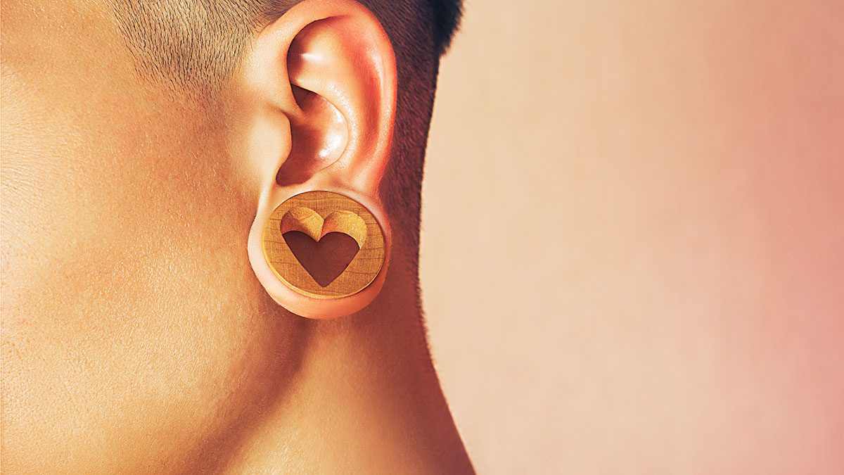 stretched lobe surgery