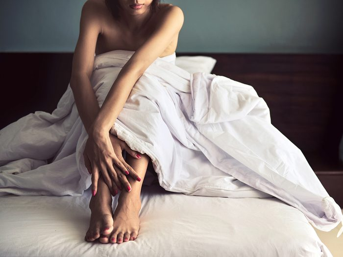 what happens to your body when you stop having sex