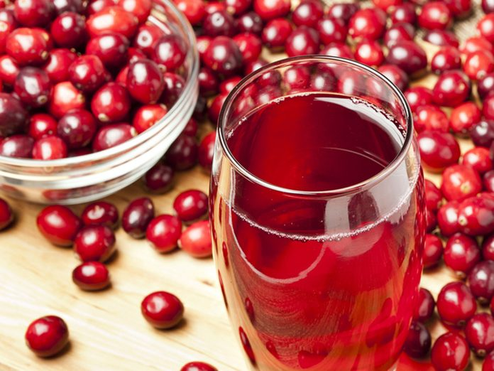 Cranberry juice, remedy for UTIs
