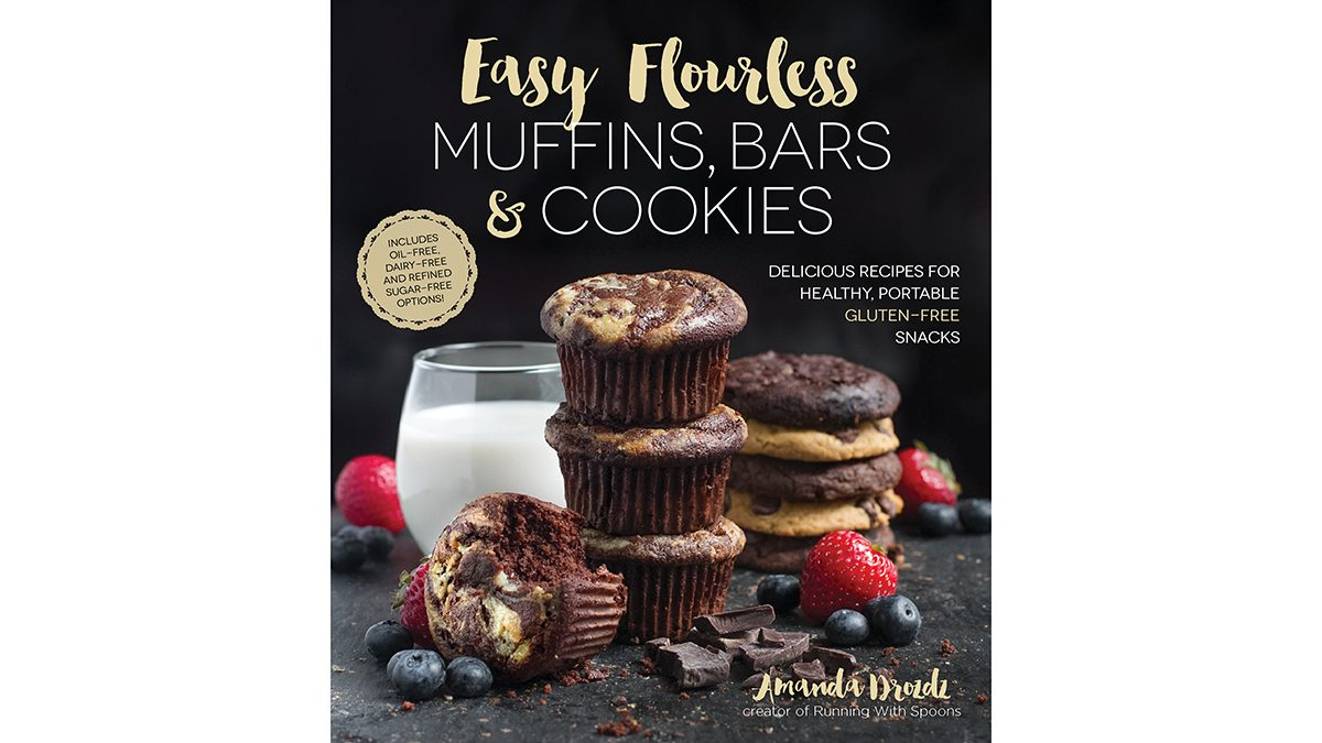pumkin spice recipes Easy Flourless Muffins, book cover