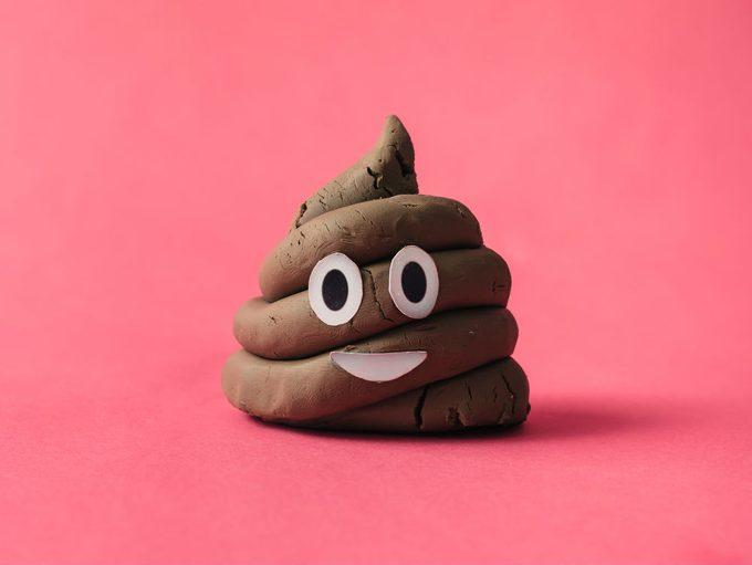 Runner's Diarrhea, a playdoh poop emoji