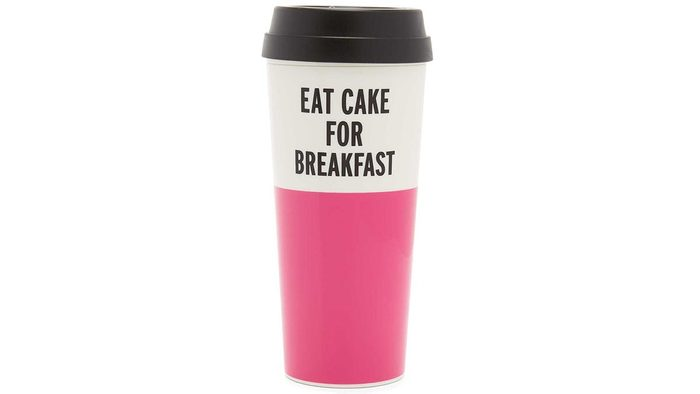 Best birthday gifts, Kate Spade Eat Cake For Breakfast coffee tumblr