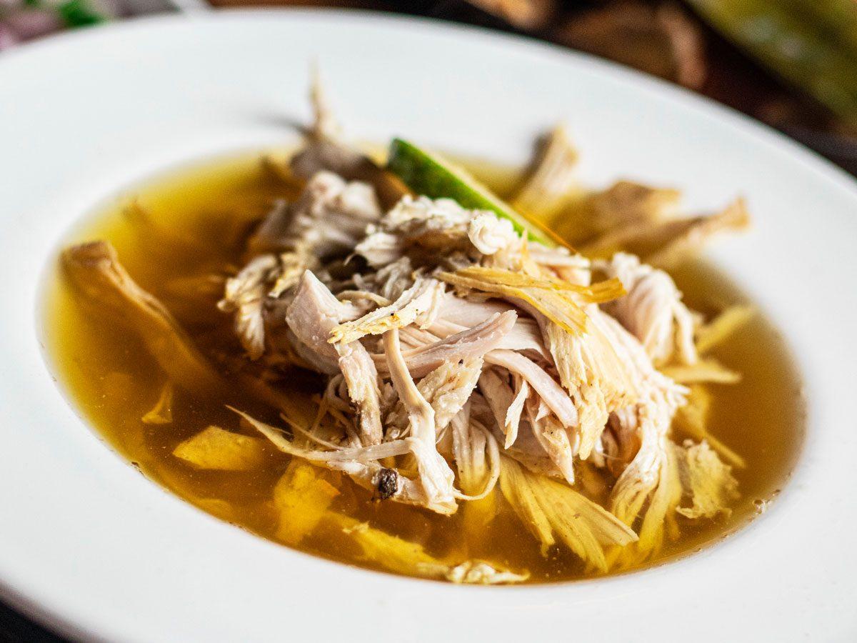 soupa de lima, lime soup | citrus recipes