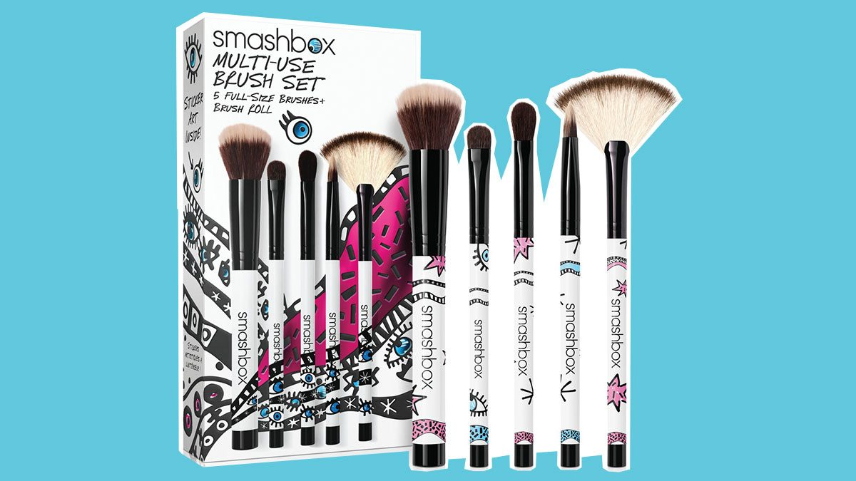 best friend gifts smashbox brush set