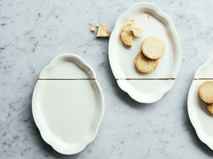 foodie gift ideas Porcelain plate