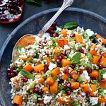 Obsessed With Butternut Squash? This Winter Grain Salad Is For You