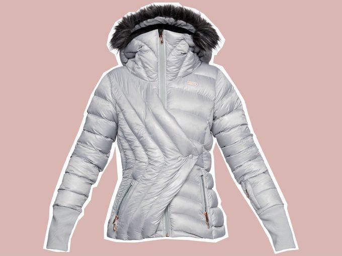 Lindsey Vonn Under Armour Ski Collection lake louise jacket
