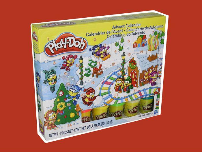 advent calendar 2017 PlayDoh