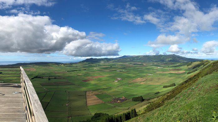 beautiful azores islands, Serra do Cume lookout