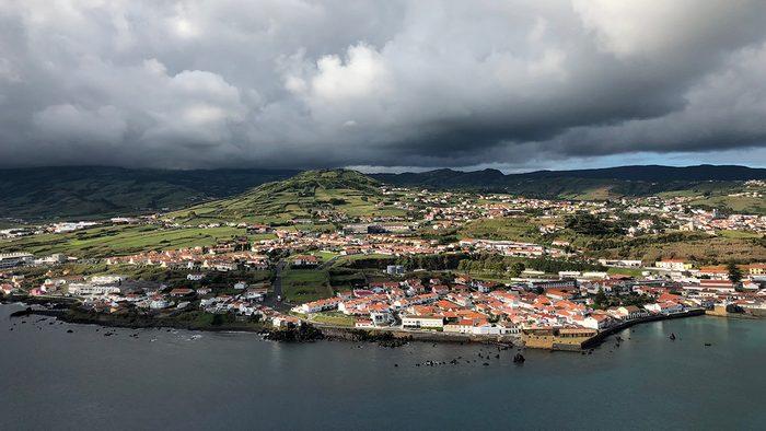 beautiful azores islands horta