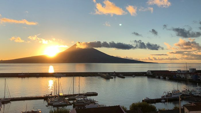 beaufiul azores islands Pico