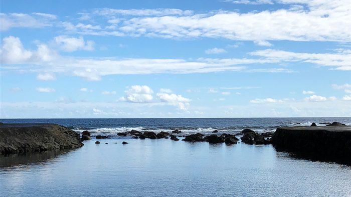 beautiful azores islands, terceira natural pools