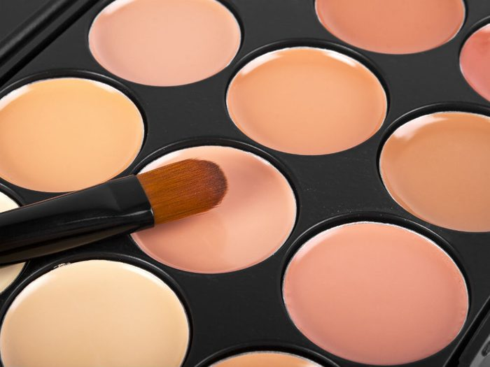 concealer properly You use the wrong shades for your skin tone