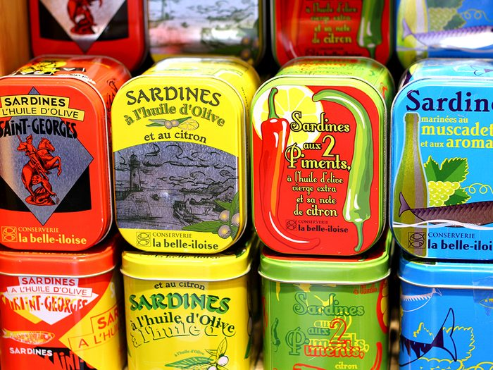fat burning foods sardines