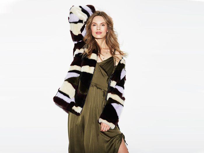 faux fur coat tiger of sweden faux fur coat