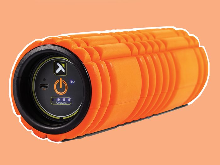 fitness technology gear Trigger Point Grid Vibe foam roller
