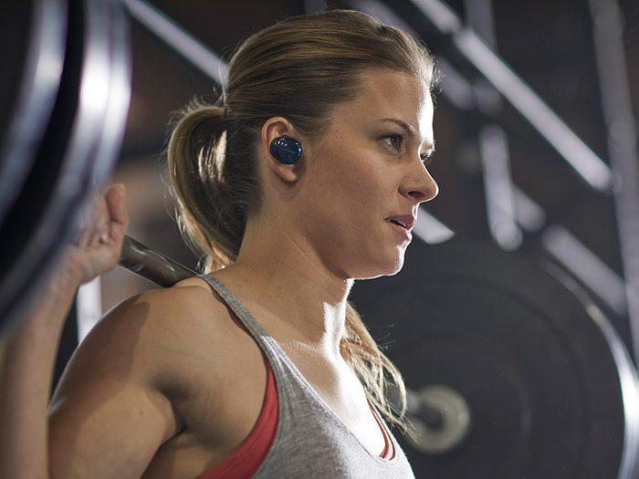 fitness technology Bose Sound Sport Free Wireless headphones