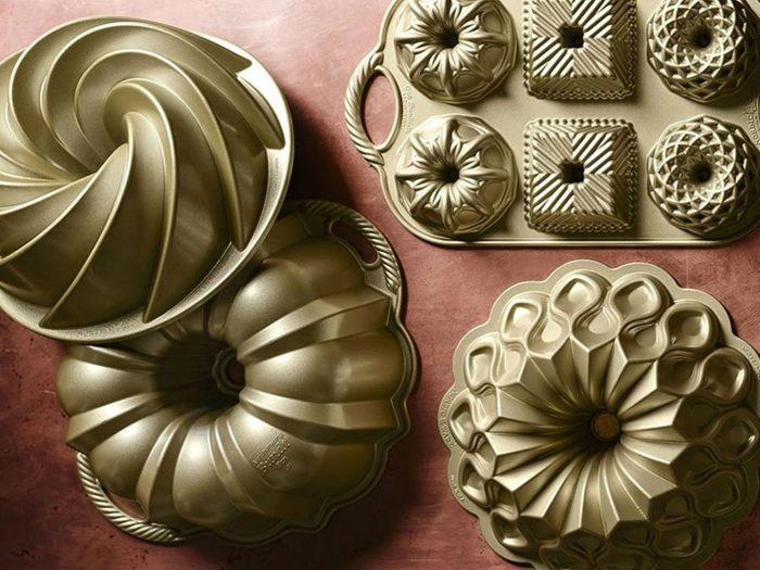 foodie gift ideas Bundt pans