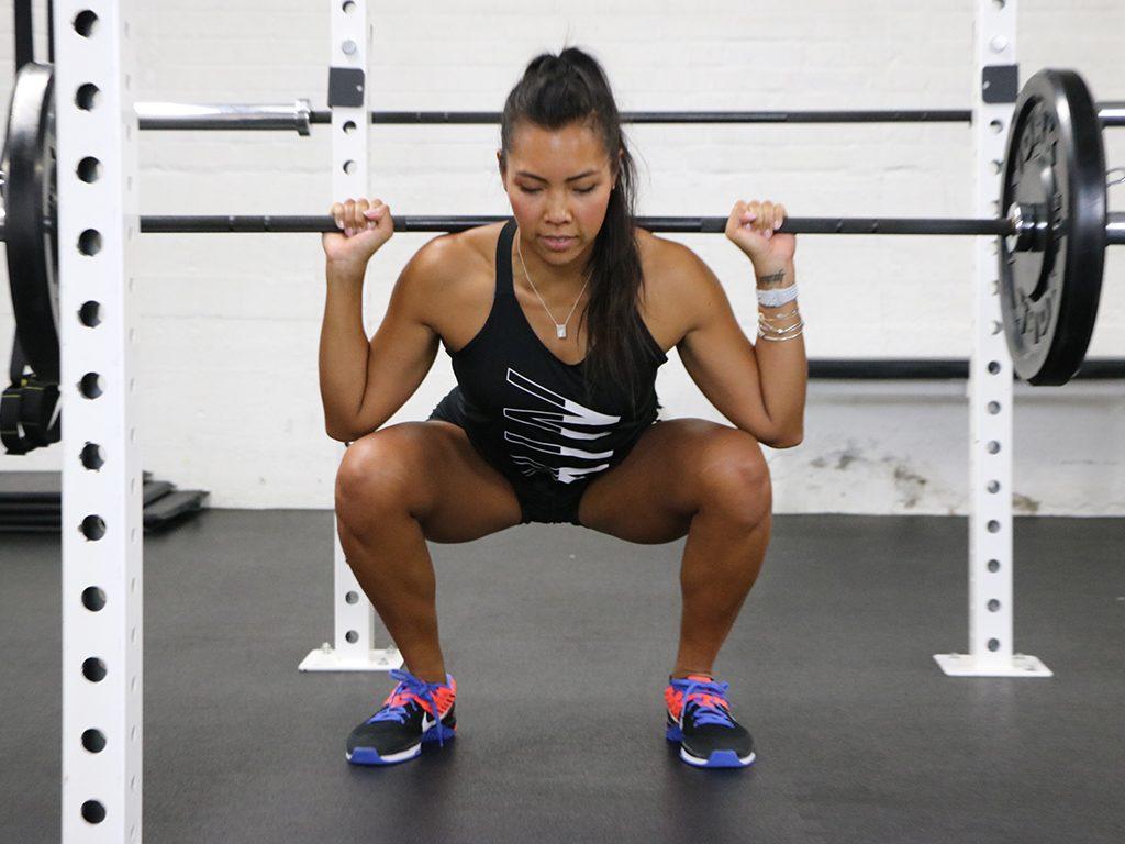 How fit am I fitness test, squat