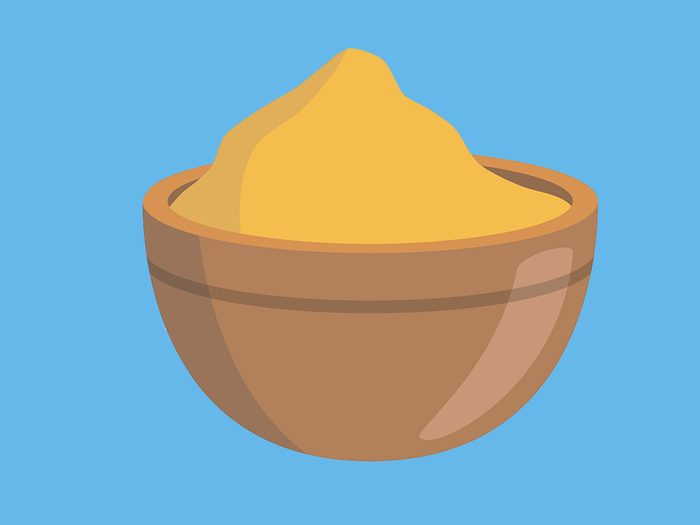 nagging cough mustard plaster