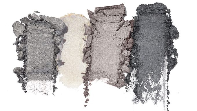 Metallic Eyeshadow, dark skin