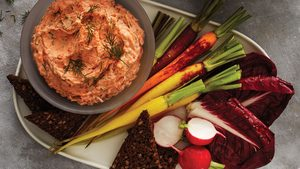 What Is Gravlax Pâté? It's Literally The Perfect Party App