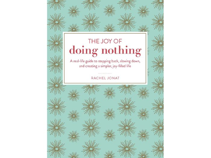 health books 2018, The Joy of Doing Nothing