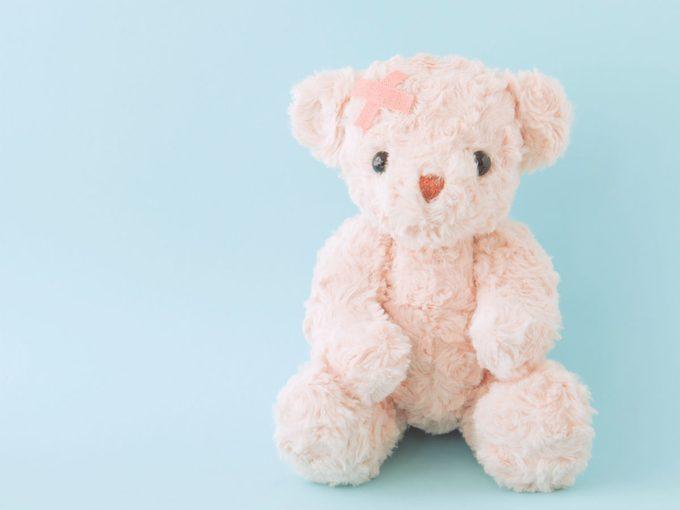 childhood emotional neglect, sad teddy bear