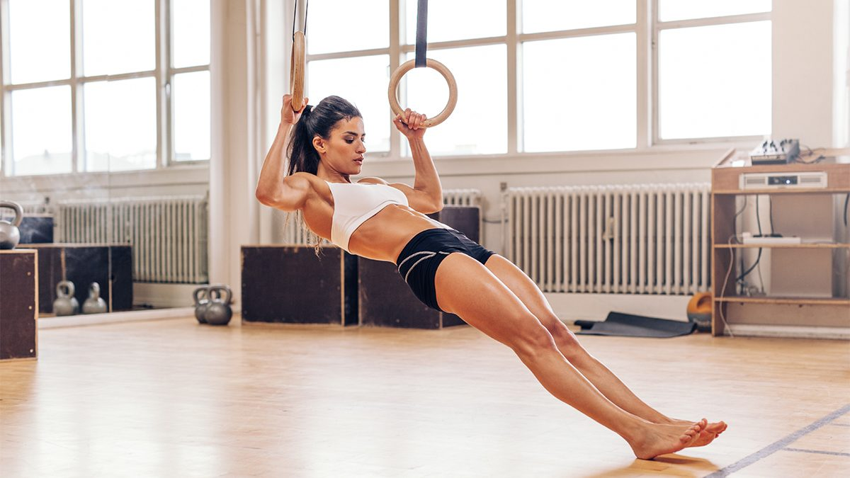 core workout rings