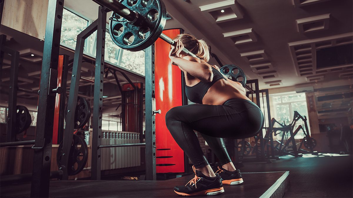 how to get abs, squat at the bottom of the move