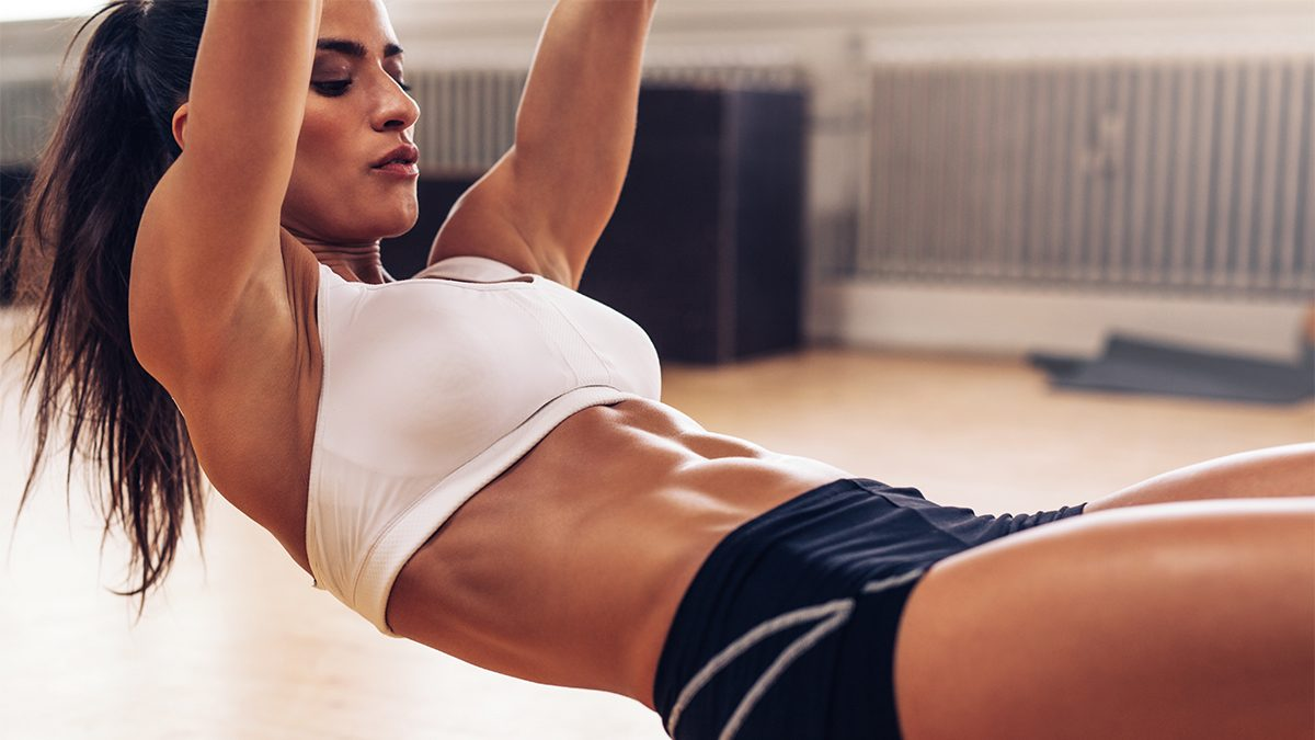 how to get abs breathe
