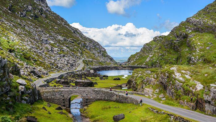 solo travel, Ireland