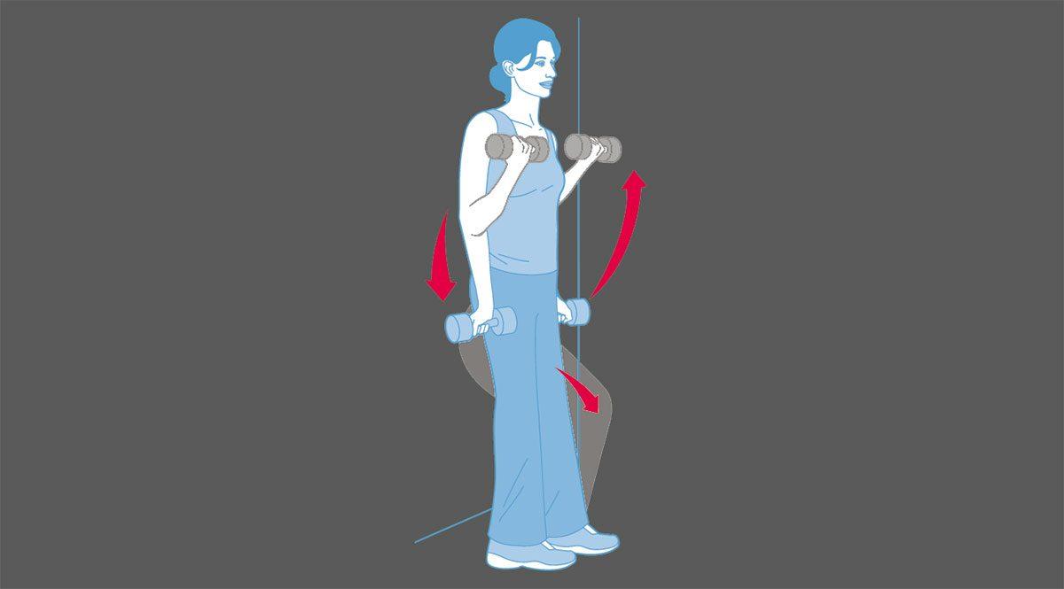 strength training exercises, Wall Squat