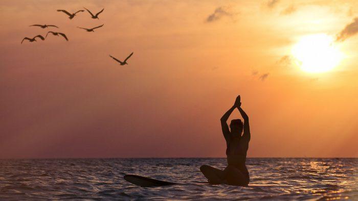 SUP yoga instagram