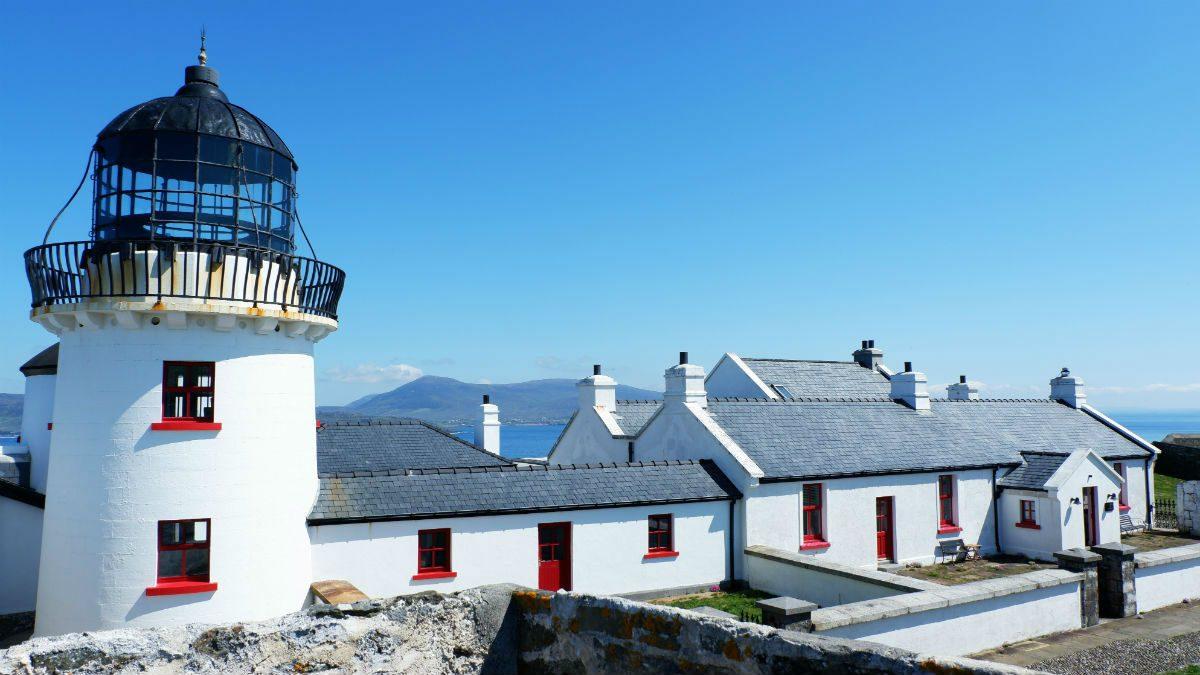 Walking Ireland Clare Island Lighthouse
