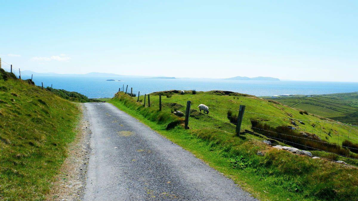 Walking Ireland ClareIsland Hiking Views