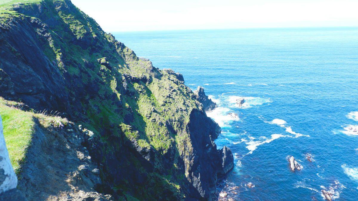 Walking Ireland Clare Island Hiking