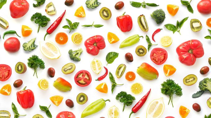 Weight Watchers, fruit and vegetables