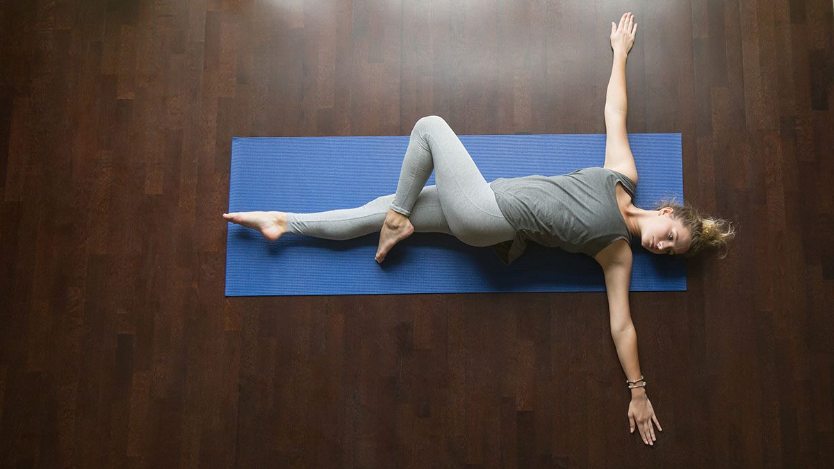 Yoga For Digestions, spinal twist