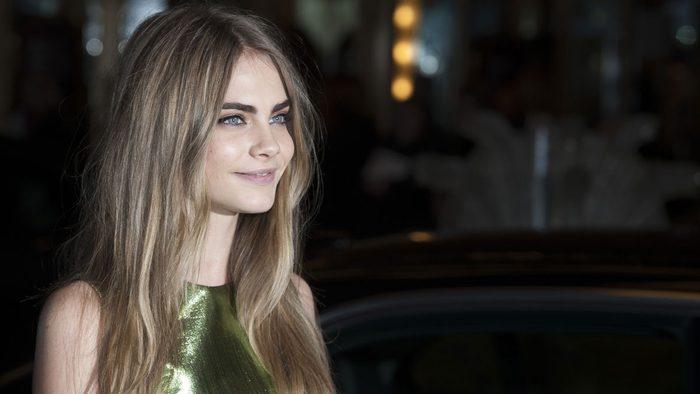 celebrity blonde cara delevigne stylist