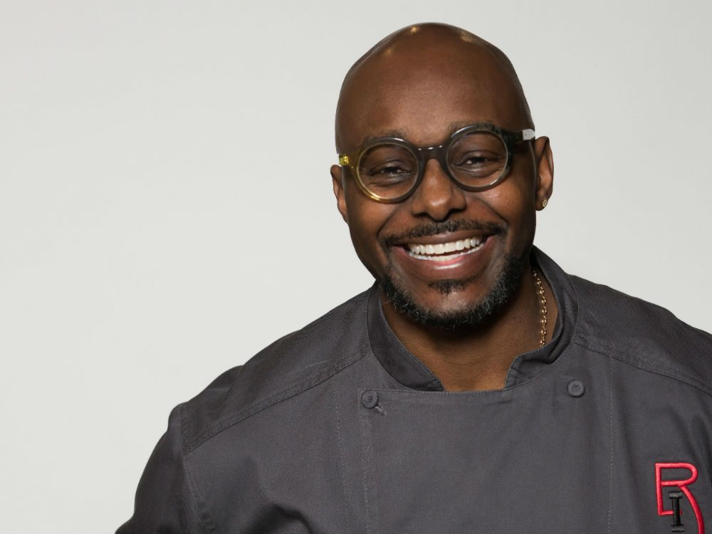 celebrity personal chef Richard Ingraham