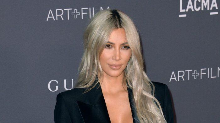 celebrity resolutions 2018 Kim Kardashian West